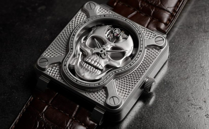 Bell & Ross BR 01 Laughing Skull Replica Watch