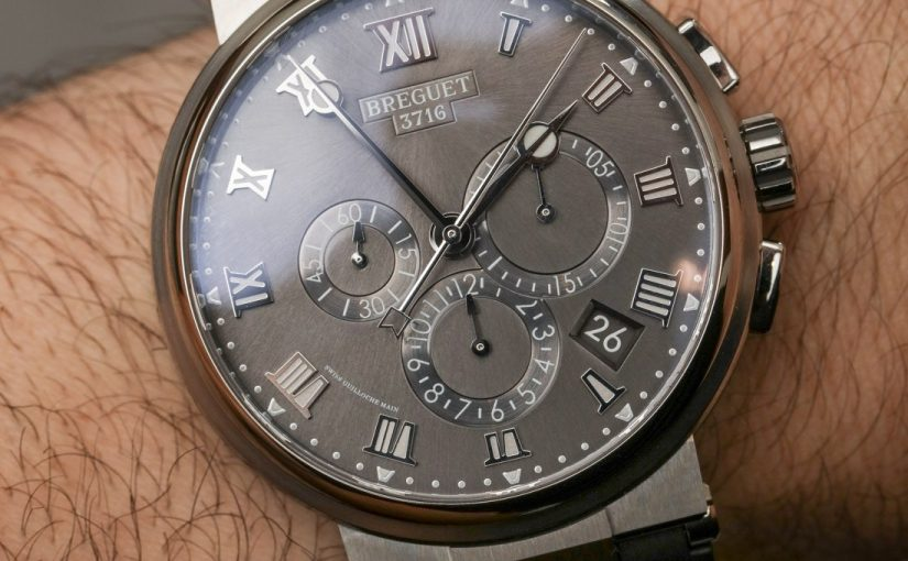 Breguet Marine Chronograph 5527 Titanium Clone Watches Hands-On