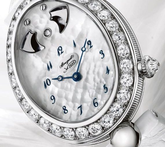 Breguet Reine de Naples with Hour-Strike Ladies Knock Off  Watches