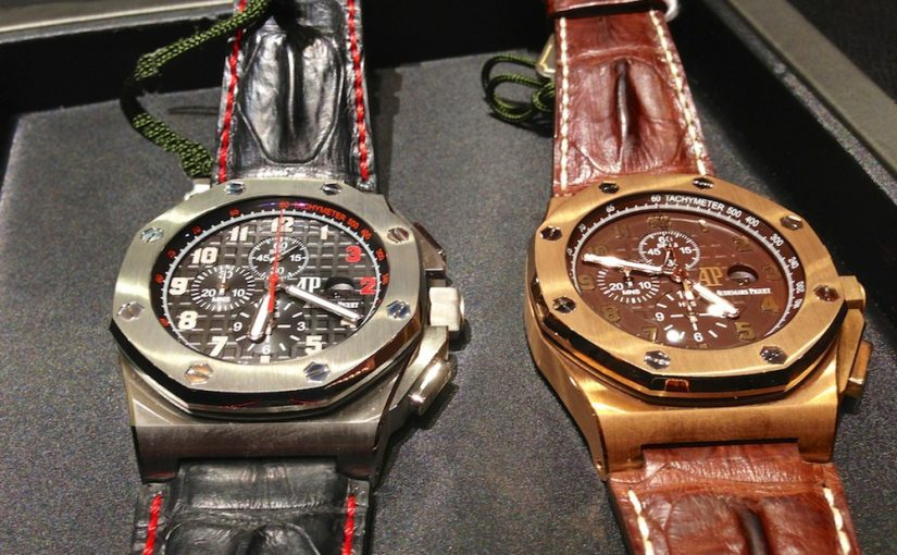 Encounter: Audemars Piguet Royal Oak Offshore Shaquille O Neal Clone Watches And The Arnold's All-Stars. Stumbling Into Two Giants.
