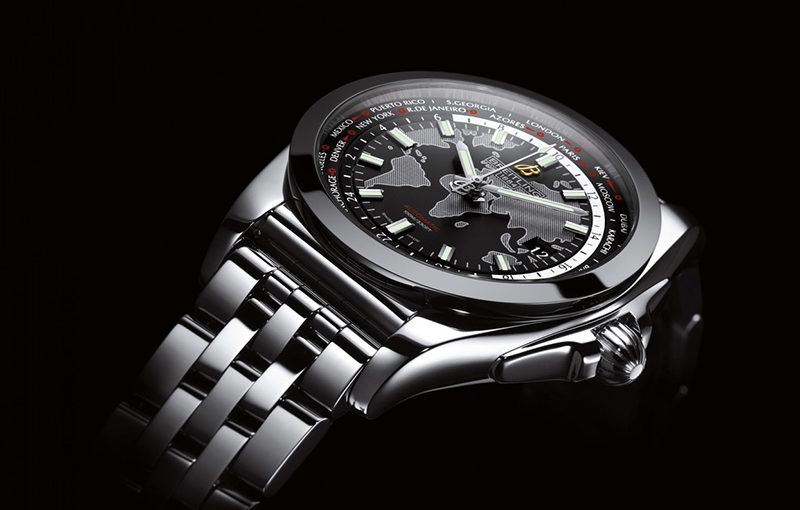 Breitling Galactic Unitime SleekT – An Entirely Different and Unexpected World Timer by Breitling Opens a New Chapter in the Brand's History Fake Watches
